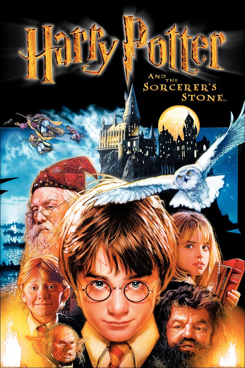 Image result for harry potter sorcerer's stone movie cover