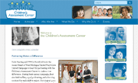Children's Assessment Center Site Updates