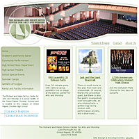 The Richard and Helen DeVos Center for Arts and Worship Web Site is Launched