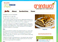 Grandwich Website