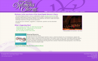 Grand Rapids Women's Chorus Website Launch