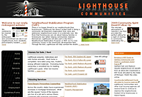Lighthouse Communities Website Redesign