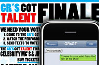 GR's Got Talent Text-to-Vote